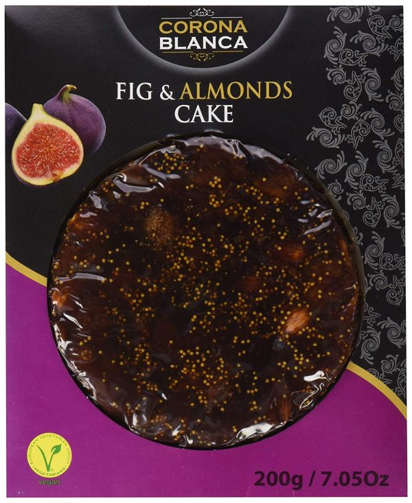 Pasteurized Fig And Almonds Cake