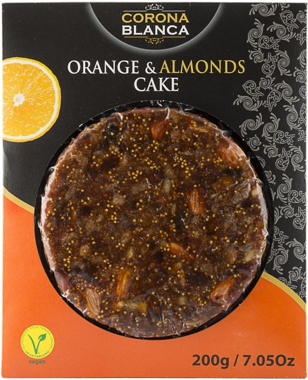 Pasteurized Orange And Almonds Cake