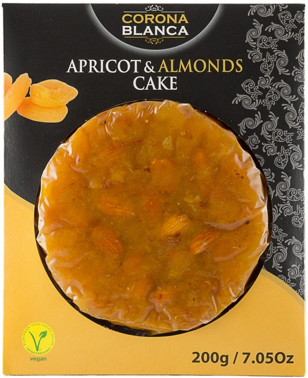 Pasteurized Apricot And Almonds Cake